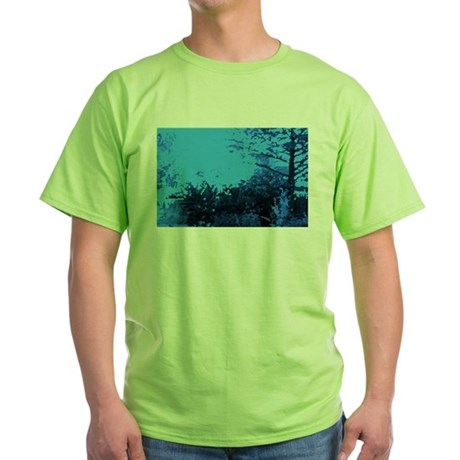 Blue Garden Green T-Shirt