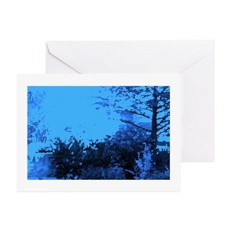 Blue Garden Greeting Cards (Pk of 10)