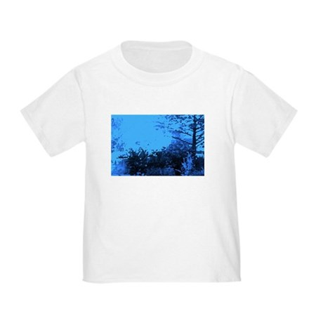 Blue Garden Toddler T-Shirt
