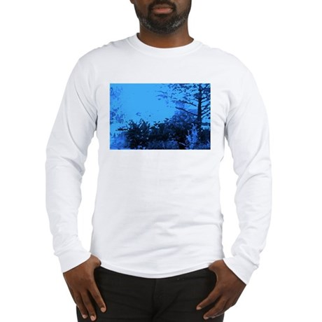 Blue Garden Long Sleeve T-Shirt