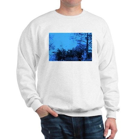 Blue Garden Sweatshirt