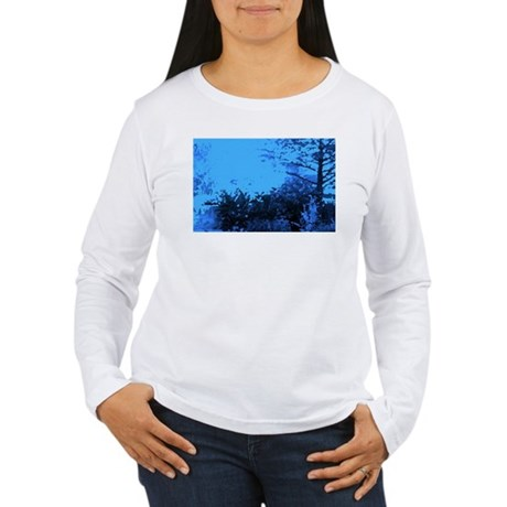 Blue Garden Women's Long Sleeve T-Shirt