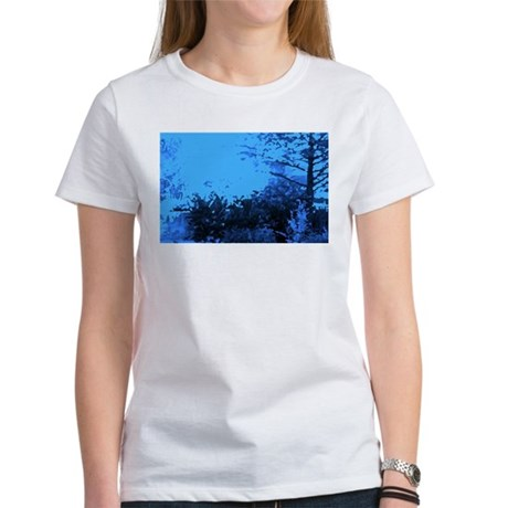 Blue Garden Women's T-Shirt