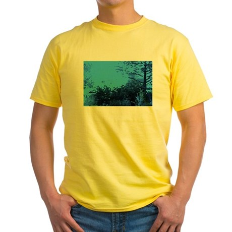 Blue Garden Yellow T-Shirt