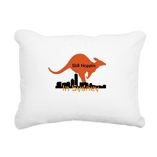 Still Hoppin In Sydney Rectangular Canvas Pillow