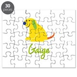Gaige Loves Puppies Puzzle
