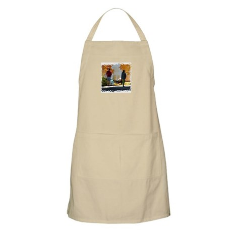 Early Autumn Stroll BBQ Apron