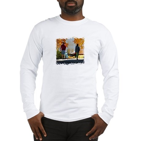 Early Autumn Stroll Long Sleeve T-Shirt