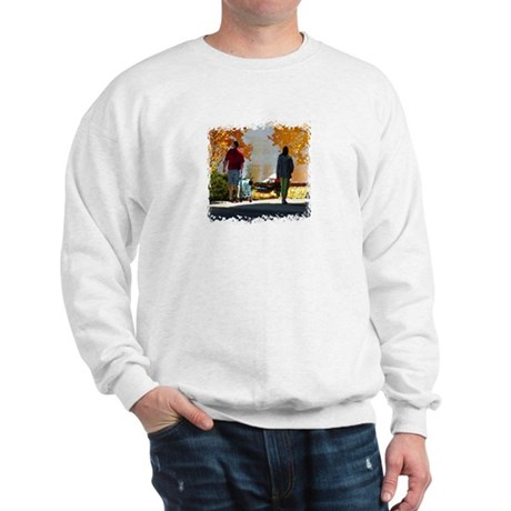Early Autumn Stroll Sweatshirt