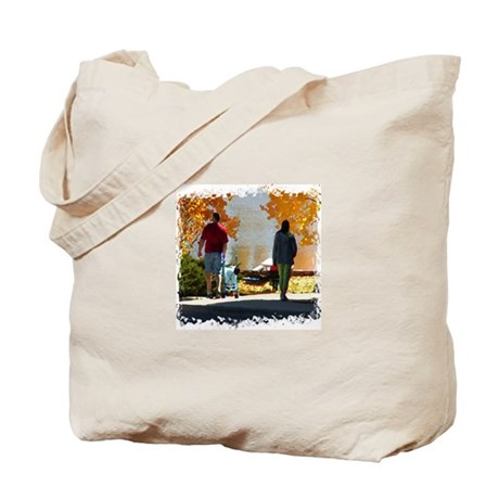 Early Autumn Stroll Tote Bag