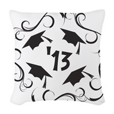 GRAD 2013 Woven Throw Pillow