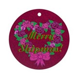 Shipper Town Ornament (Round)