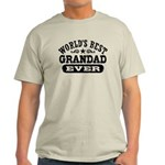 World's Best Grandad Ever Light T-Shirt