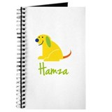 Hamza Loves Puppies Journal
