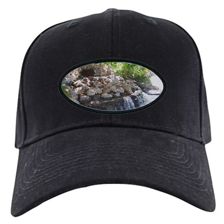 Garden Waterfall Black Cap