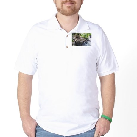 Garden Waterfall Golf Shirt