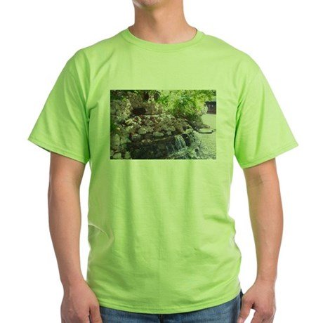 Garden Waterfall Green T-Shirt