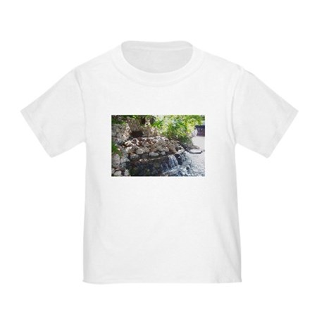 Garden Waterfall Toddler T-Shirt