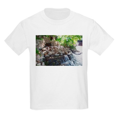 Garden Waterfall Kids T-Shirt