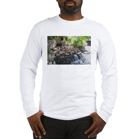 Garden Waterfall Long Sleeve T-Shirt