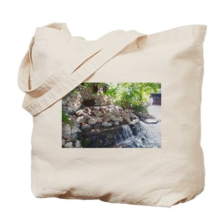 Garden Waterfall Tote Bag