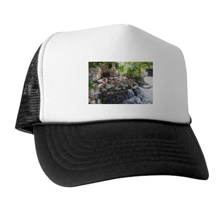 Garden Waterfall Trucker Hat