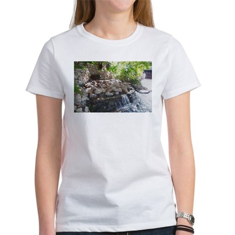 Garden Waterfall Women's T-Shirt