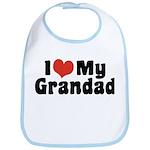 I Love My Grandad Bib