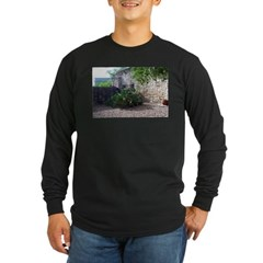 Prickly Pear Cactus Long Sleeve Dark T-Shirt