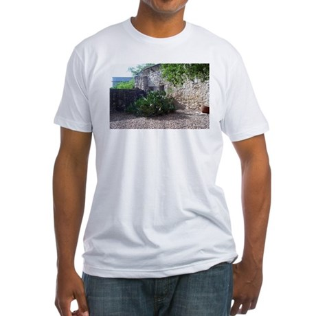 Prickly Pear Cactus Fitted T-Shirt