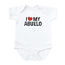I Love My Abuelo Infant Bodysuit