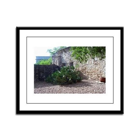 Prickly Pear Cactus Framed Panel Print