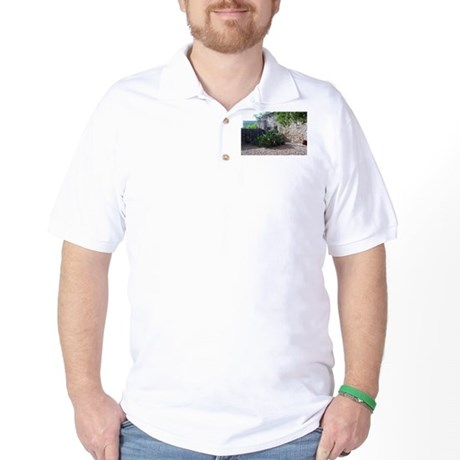 Prickly Pear Cactus Golf Shirt