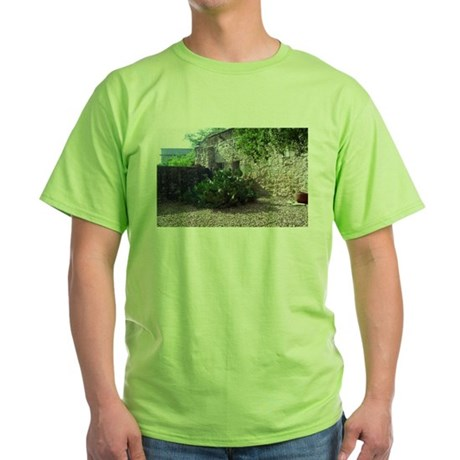 Prickly Pear Cactus Green T-Shirt