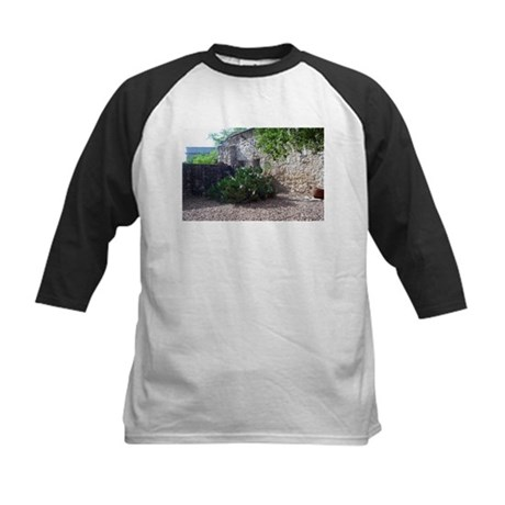 Prickly Pear Cactus Kids Baseball Jersey