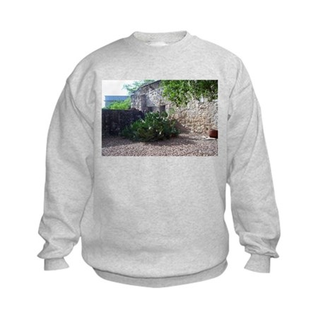 Prickly Pear Cactus Kids Sweatshirt