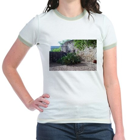 Prickly Pear Cactus Jr. Ringer T-Shirt