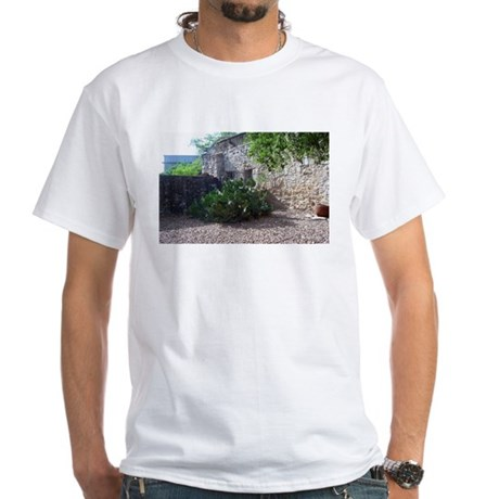 Prickly Pear Cactus White T-Shirt