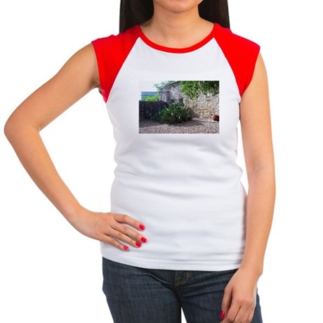 Prickly Pear Cactus Women's Cap Sleeve T-Shirt