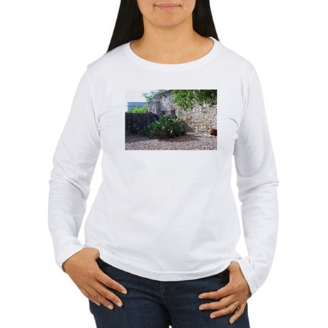 Prickly Pear Cactus Women's Long Sleeve T-Shirt