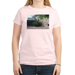Prickly Pear Cactus Women's Pink T-Shirt