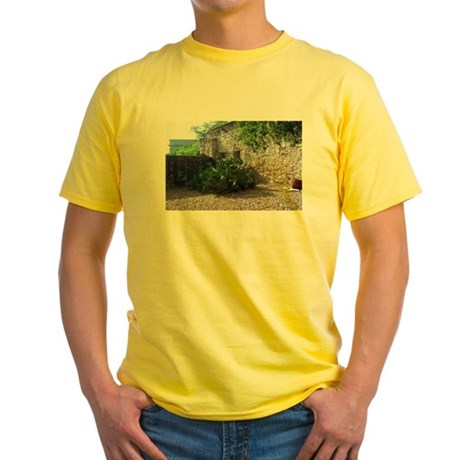 Prickly Pear Cactus Yellow T-Shirt
