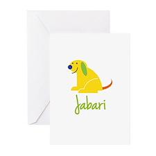 Jabari Loves Puppies Greeting Cards (Pk of 20)