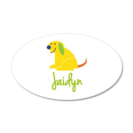 Jaidyn Loves Puppies Wall Decal