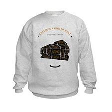 Cheese chart Sweatshirt