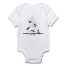 Skeletons, Points, & Sherds Infant Bodysuit