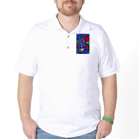 Abstract 001a Golf Shirt