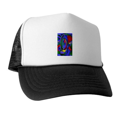 Abstract 001a Trucker Hat