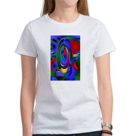 Abstract 001a Women's T-Shirt