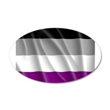 ASEXUAL PRIDE FLAG Wall Decal